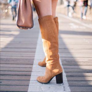 Sam Edelman Silas Knee High Boot Golden Caramel